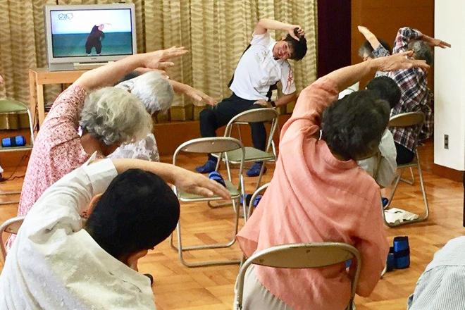 介護予防体操を実践!